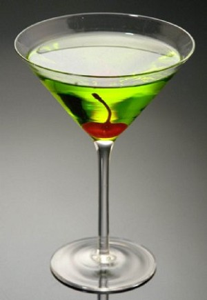Fake Food Green Apple Martini