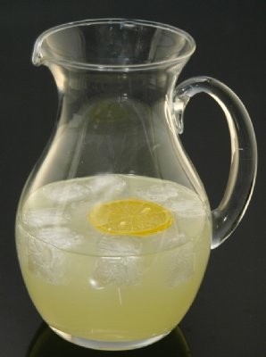 Fake Food Acrylic Lemonade Pitcher