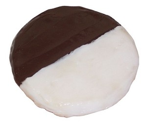 Fake Food Black And White Cookie