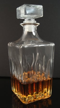 Fake Food Whiskey Decanter