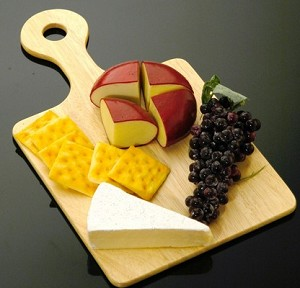 Fake Food Fruit & Cheese Board