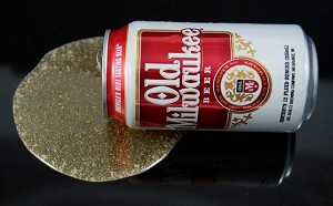 Fake Food Spilled Beer Can