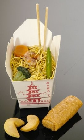 Fake Food Chinese Food Assortment