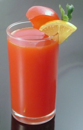 Fake Food Glass Of Tomato Juice
