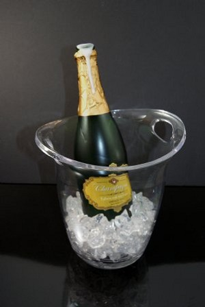Fake Food Champagne Bucket