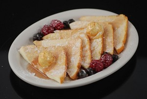 Fake Food French Toast Plate