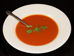 Fake Food Tomato Soup