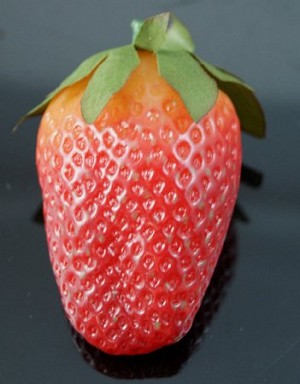 Fake Food Deluxe Jumbo Strawberry - One Piece