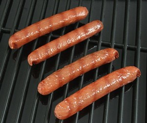 Fake Food Hot Dogs Grilled - (pack of 4)