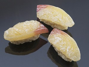 Fake Food Sushi Yellowtail(pack of 3)