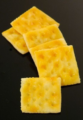 Fake Food Square Saltine Cracker (pack of 6)