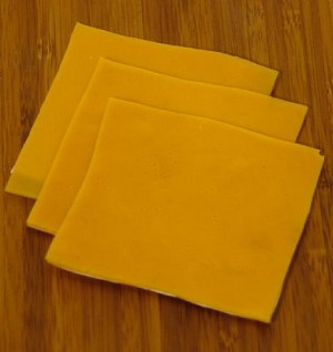 Fake Food American Cheese Slice(pack of 3)