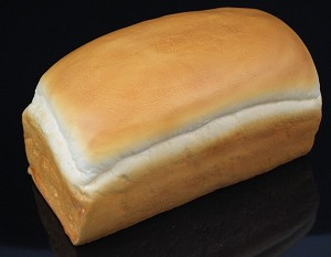 Fake Food Bread Of White Loaf