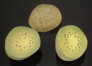 Fake Food Kiwi Half pack of 3