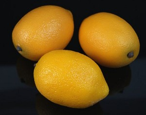 Fake Food Jumbo Size Lemons (bag of 3)