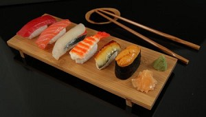 Fake Food Deluxe Sushi Board