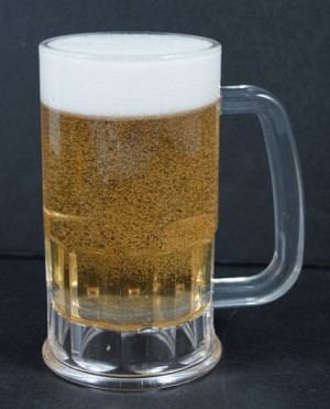 Fake Food Acrylic Beer Mug