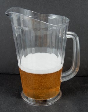 Fake Food Acrylic Beer Pitcher