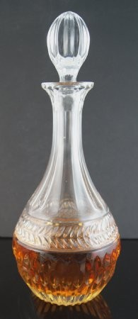 Fake Food Crystal Whiskey/brandy Decanter