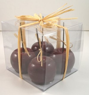 Fake Food Candy Apples (Gift Box of 4)