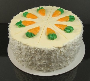 Fake Food Deluxe Carrot Cake