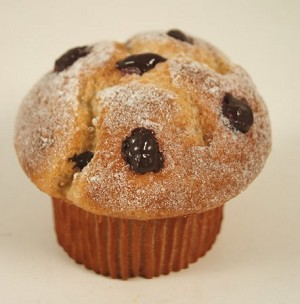 Fake Food Chocolate Chip Muffin