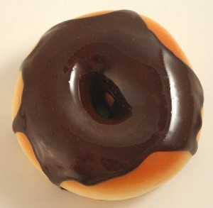 Fake Food Chocolate Donut Magnet