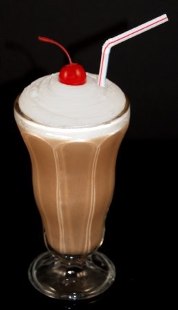 Fake Food Chocolate Shake