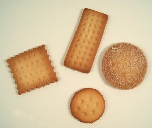 Fake Food Fancy European Biscuit Cookies (set of 4)