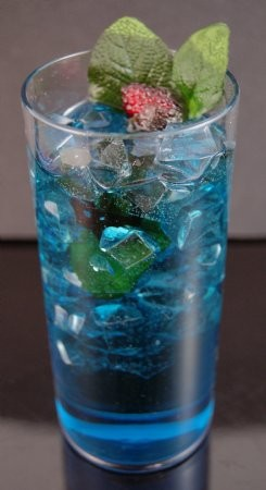 Fake Food Blue Lagoon Cocktail Drink