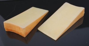 Fake Food Fontina Cheese Wedge pack of 2