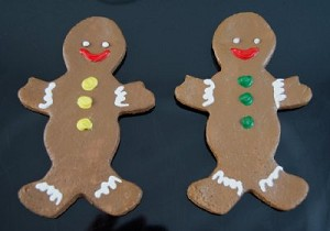 Fake Food Holiday Gingerbread Man (pack of 2)