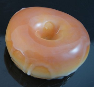 Fake Food Glazed Donut - One Piece