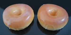 Fake Food Glazed Donuts (pack of 2)