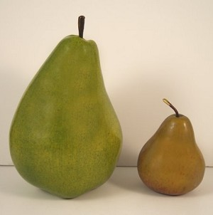 Fake Food Jumbo Green Pear