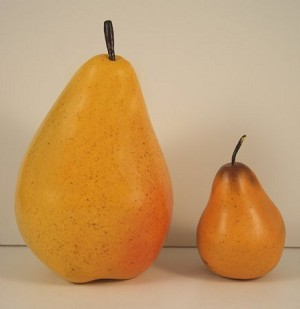 Fake Food Jumbo Yellow Pear