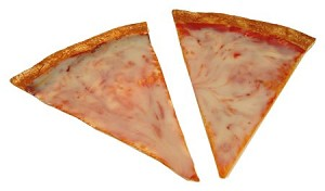 Fake Food Extra Large Pizza Slice (pack of 2)