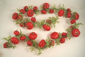 Fake Food Extra Long Tomato Chain Garland