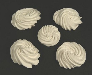 Fake Food Meringue (set of 5)