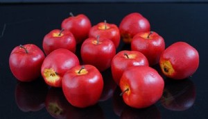 Fake Food Mini Red Apples - pack of 12