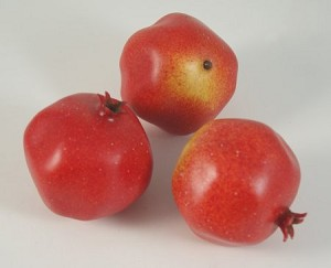 Fake Food Grenada Pomegranates (bag of 3)