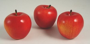 Fake Food Honeycrisp Apples (set of 3)