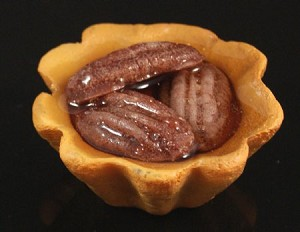 Fake Food Pecan Tartlet - One Piece