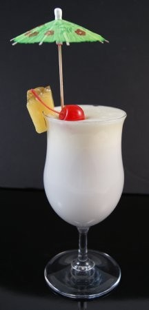 Fake Food Polycarbonate Pina Colada