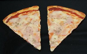 Fake Food Extra Cheese Pizza Slice (pack of 2)