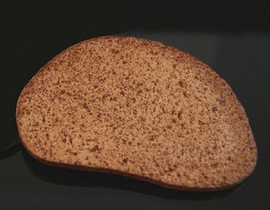 Fake Food Rye Bread Slice - One Piece