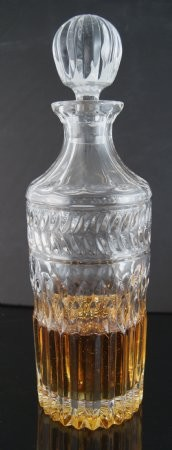 Fake Food Crystal Whiskey/Scotch Decanter