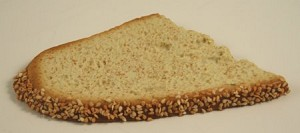 Fake Food Seeded Sliced Bread - One Piece