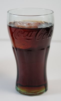 Fake Food Small Cola On Ice