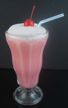 Fake Food Strawberry Shake